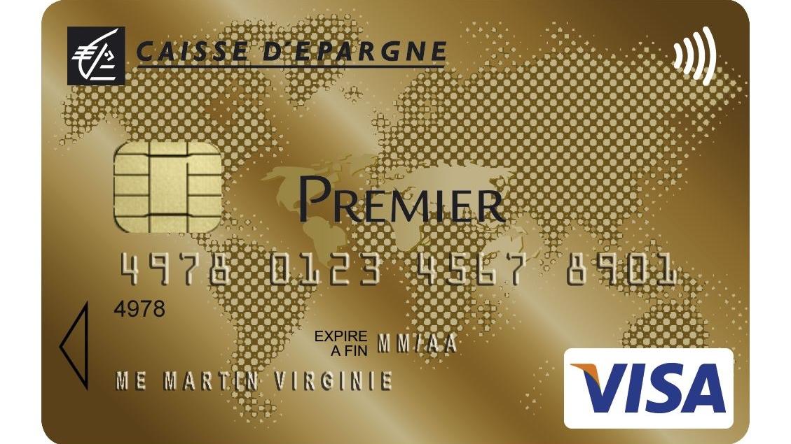 carte gold caisse d épargne Visuel   Carte Visa Premier Caisse d'Epargne
