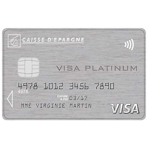 carte platinum caisse d épargne Carte Visa Platinum Caisse d'Epargne
